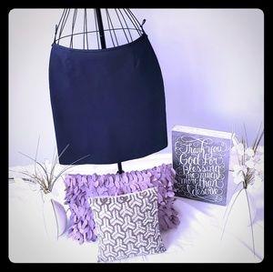 Dresses & Skirts - Dark navy skirt (dressy denim material)